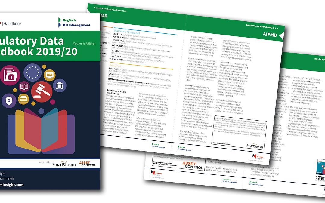 Regulatory Data Handbook 2019/20