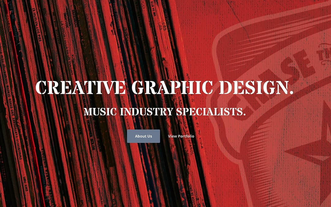 Chase the Ace design website