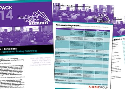 Intelligence Trading Summit media pack