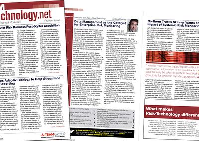 Risk Technology newsletter